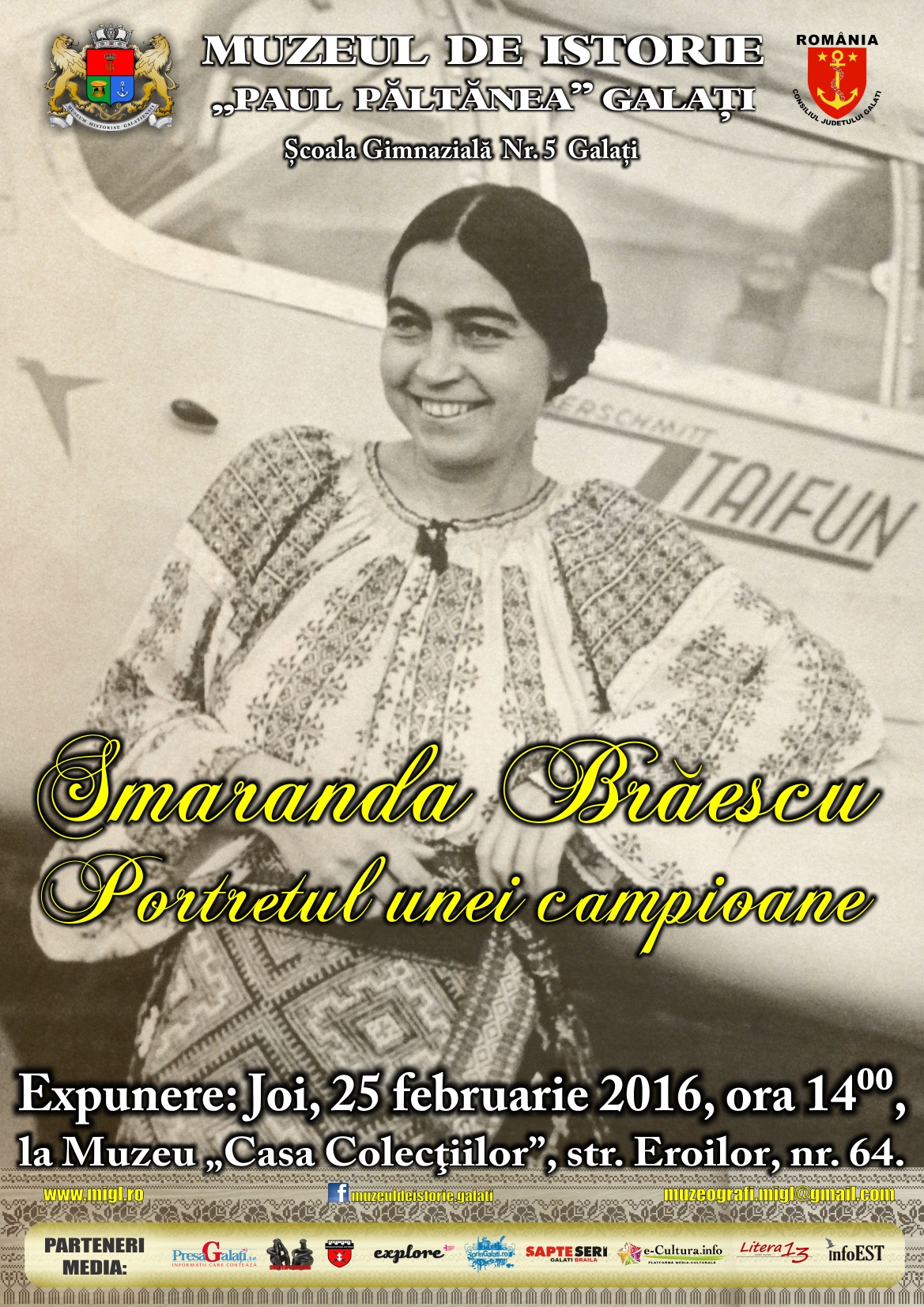 Afis 25 feb Smaranda Braescu