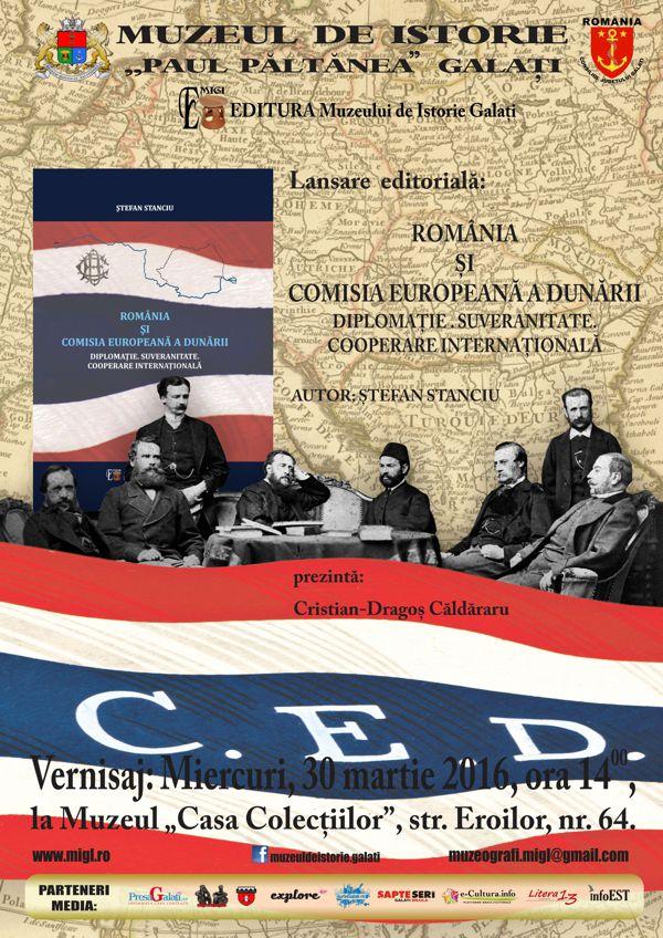 Afis 30 martie Lansare de carte CED