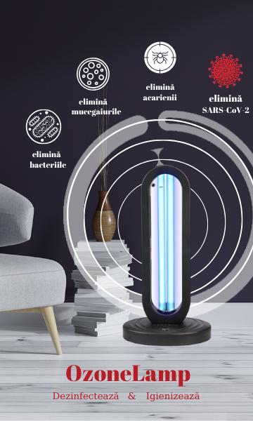 ozonelamp lampa uv dezinfectie